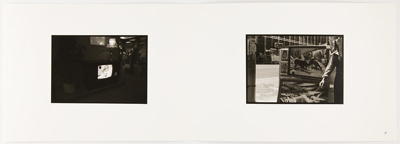 Untitled [Living room and street scene]; Carlson, Dale S.; 1977; 2011:0012:0007