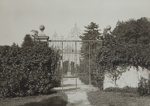 Untitled [Gate and house]; Boissonnas, Frederic; ca. 1920; 1982:0010:0003