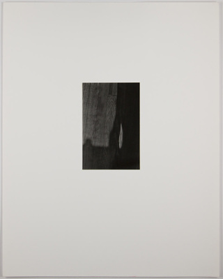 Untitled [Shadow on floor]; Edelstein, Mura; undated; 1982:0094:0002