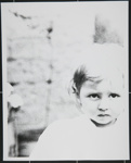 [Untitled, toddler outside]; Wells, Alice; c.a. 1970; 1988:0023:0008