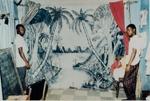 Untitled [Lagoon backdrop]; Viditz-Ward, Vera; 1985; 2009:0046:0003