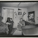 [Untitled, two young college women sit in their room] ; Wells, Alice; ca. 1969; 1974:0046:0001