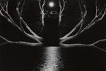 Untitled [Moon, trees, and water]; Schiff, Daryll; 1971; 1972:0280:0001