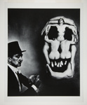 Dali Skull; Halsman, Philippe; 1951; 1987:0014:0004