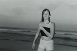 Girl Coming Out of Ocean; Cohen, Mark; July 1980; 2000:0099:0008