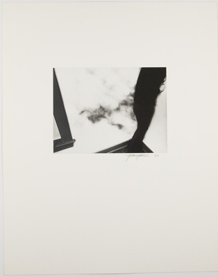 Untitled [Person standing in corner]; Matthaeus, Paul; 1973; 1974:0003:0023
