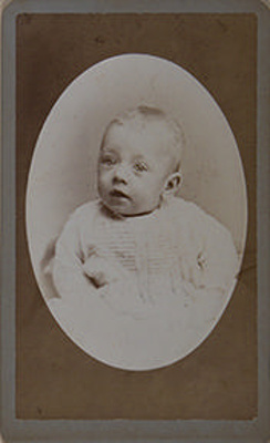 Untitled [portrait of baby]; J. H. Kent; Undated ; 1081:0053:0069