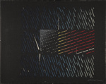 Untitled [Abstracted flag]; Warner, Philip; ca. 1980; 1981:0123:0043