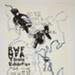 RWF MFA thesis exhibition poster; Fichter, Robert; ca. 1966; 1971:0414:0002