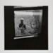 [Woman in a field seen through a window]; Fichter, Robert; ca. 1967; 1971:0440:0001