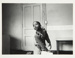 [Untitled, small boy standing near alphabet boarder in nursery]. ; Heron, Reginald; 1966; 1972:0156:9999