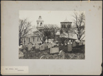 Old Burial Hill, Plymouth; Burbank, A. S. (Alfred Stevens); 1892; 1977:0073:0028
