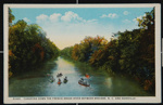Canoeing Down the French Broad River Between Brevard, N.C. and Asheville; C. T. American Art; 1922; 1977:0079:0538