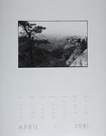 [Page Four of 1981 Calendar - April]; Coppola, Richard; 1981; 2000:0141:0004