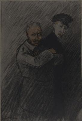 Untitled [Kaiser Wilhelm]; Raemaekers, Louis; ca. 1914; 1978:0143:0001