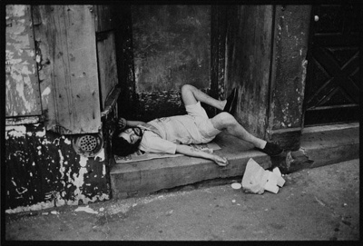 [diptych of man and woman sleeping]; Peek, Laurie; 1977; 1978:0055:0017