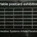 Portable postcard exhibition; Sheridan, Sonia Landy; Z232.5 .S552 Sh-Po