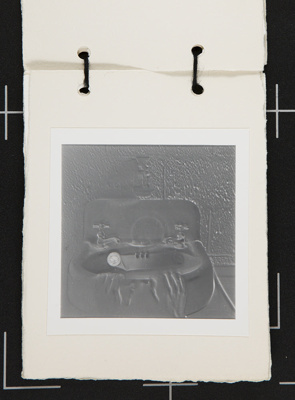 Untitled [Hands at sink.]; Brown, Lawrie; ca. 1975; 1976:0037:0006