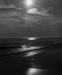 Untitled [Beach with Sun and Clouds]; Buld, John; 1971:0345:0001