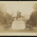 Statue of General Andrew Jackson. Front View of the White House ; C.M. Bell Studios; ca. 1900; 1976:0003:0012