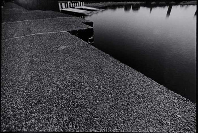 Untitled [Walkway and water]; Blumberg, Donald; 1973; 1976:0002:0005
