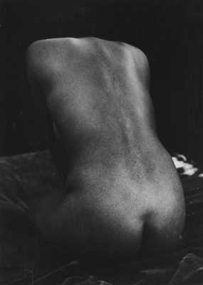 Untitled [Nude figure]; Colwell, Larry; 1955; 1974:0040:0004