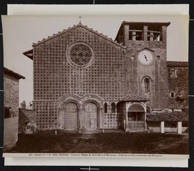 Chiesa di Santa Maria di Monteluce. ; Fratelli Alinari; ca. 1890; 1979:0118:0001