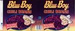 Chili Bean Brand Blue Boys; Frampton, Hollis; 1979; 2000:0111:0003