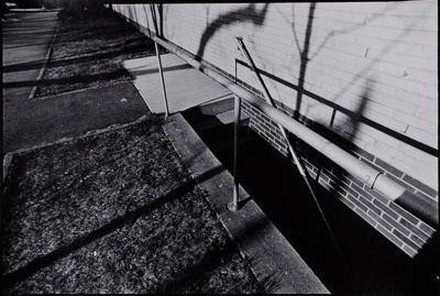 Untitled [Basement stairs]; Blumberg, Donald; 1973; 1976:0002:0004