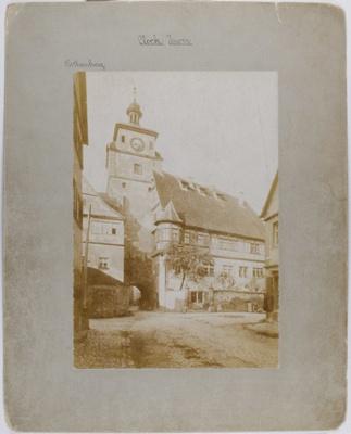 Clock Tower; Albrecht, D.; 1894; 1979:0135:0002