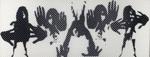 Untitled [Abstracted figures]; Katsiff, Bruce; Undated; 1971:0541:0001