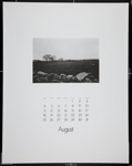 [Page eight of 1974 Calendar - August]; Coppola, Richard; 1974; 1974:0061:0008