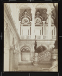 Congressional Library Grand Staircase ; C.M. Bell Studios; ca. 1900; 1976:0003:0002