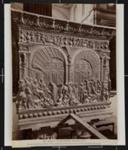 G. Cristo alla presenza di Erode e Pilato, dettaglio del Pergamo a sinistra entrando.; Fratelli Alinari; ca. 1890; 1979:0118:0008