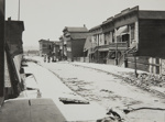 Earthquake Effects in Small Street South of Market; Chadwick, Harry W. (1860-1933); 1906; 1978:0151:0043
