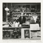 [Lionel Byam in his General Store- Tyrone, Ont. Oct/71].; Newton, Neil; 1971; 1974:0015:0011
