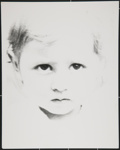 [Untitled, toddler portrait]. ; Wells, Alice; c.a. 1969; 1988:0004:0035