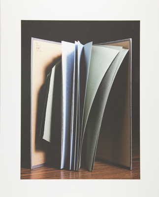 Untitled [Open book]; Manchee, Doug; 2008; 2009:0060:0051