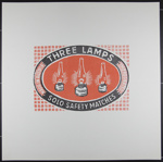 Untitled [Three Lamps logo]; Burgevin, Daniel; 1970; 1972:0096:0059