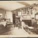 Untitled, (Country dwelling, fireplace and furniture). ; Moulton-Erickson Photo Co.; c.a. 1870; 1977:0074:0004
