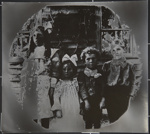 Untitled, [four children standing].; Wells, Alice; c.a. 1970; 1988:0023:0001