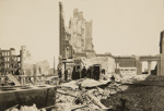 Vaults of Bank in Flood. Bodg. Market & 4th streets.; Chadwick, Harry W. (1860-1933); 1906; 1978:0151:0023