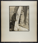 [two men handling sail]; Hahn, Alta Ruth; ca.1930; 1982:0020:0027