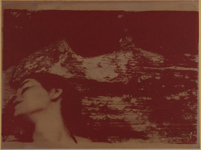 Untitled [Woman in red]; Lyons, Joan; 1971; 1979:0057:0001