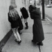 Girls Hiding from Camera; Cohen, Mark; February 1972; 2000:0099:0002