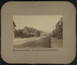 Shakespeare's House and Henley St., Stratford-On-Avon; Wilson, George Washington; ca. 1870; 1976:0004:0003