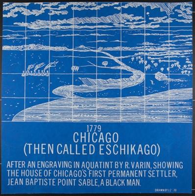 1779 Chicago (Then Called Eschikago); Zanzi, James; 1970; 1972:0096:0053