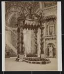 Basilica di S. Pietro in Vaticano, Rome, Italy; Fratelli Alinari; ca. 1880-1910; 1979:0117:0003