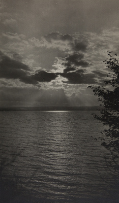 Untitled [Sun behind the clouds]; Bland, William; undated; 1974:0056:0007