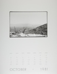 [Page Ten of 1981 Calendar - October]; Coppola, Richard; 1981; 2000:0141:0010